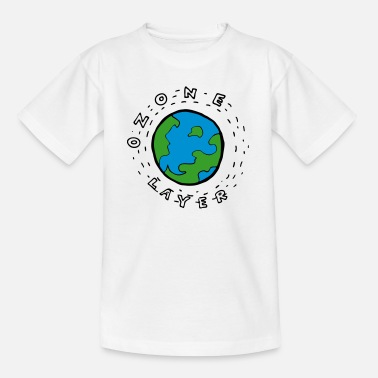 Ozone Earth's Ozone Layer Drawing - Teenage T-Shirt