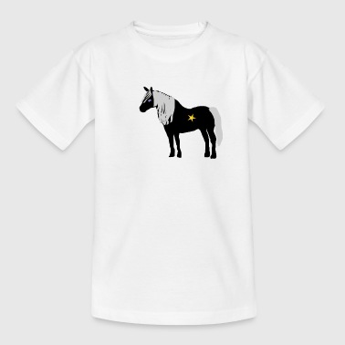 paard - Teenager T-shirt