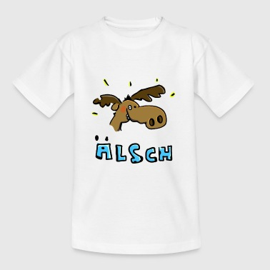 The Moose is in a good mood - Teenage T-shirt