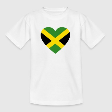 Love love gift jamaica jamaica - Teenage T-Shirt