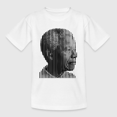 Mandela Free Profil (1c) - Teenage T-Shirt