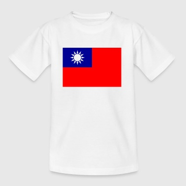 National Flag Of Taiwan - Teenager-T-shirt