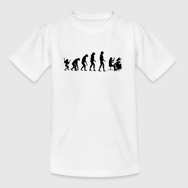 Evolution Drums / Percussie - Teenager T-shirt