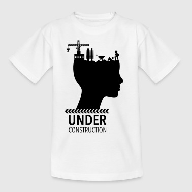 Brain Under Construction Adolescence - Teenage T-Shirt