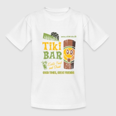 Smiley World Tiki Bar Männer T-Shirt - Teenager T-Shirt