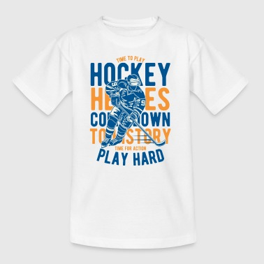hockey - Teenager-T-shirt