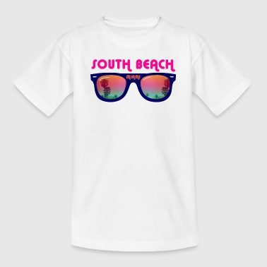 South Beach Miami - Sonnenbrille - Teenager T-Shirt