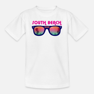South Beach South Beach Miami - Sonnenbrille - Teenager T-Shirt
