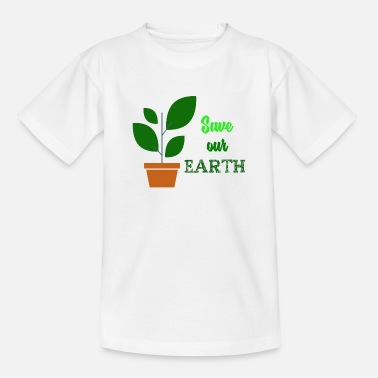 Earth-day Earth Day - Teenage T-Shirt