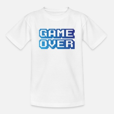 Game Over Game Over Jeux Video - T-shirt Ado
