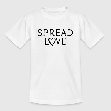verspreid Liefde - Teenager T-shirt