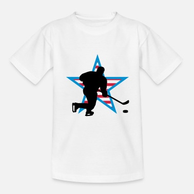 Hockey Enfant icehockey_star_a_3c - T-shirt Ado