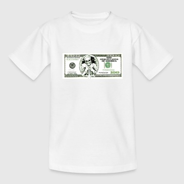 100 dollars provocativo - Camiseta adolescente