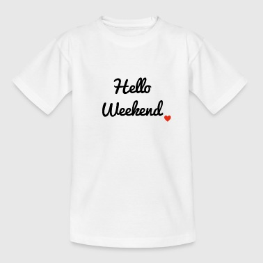 weekend - T-shirt Ado