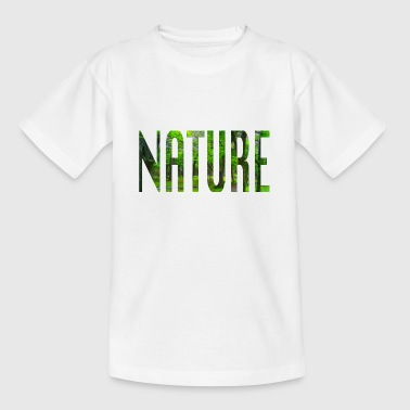 Nature - part of speech design - Teenage T-Shirt