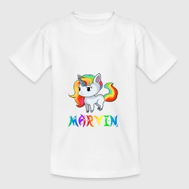 Einhorn Marvin - Teenager-T-shirt