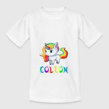 Einhorn Colton - Teenager T-Shirt