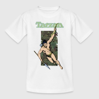 Tarzan Spear Liana Jungle Adventure - Teenage T-Shirt