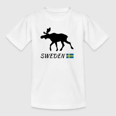 Elch, Schweden - Teenager T-Shirt