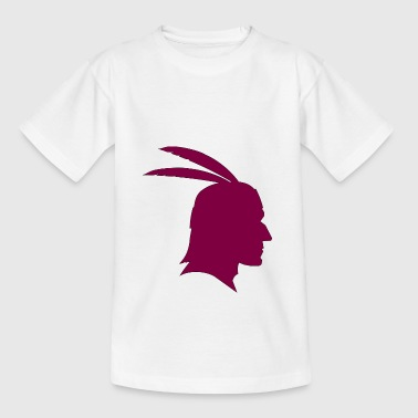 indian indian american tent tent teepee tomahawk - Teenage T-Shirt