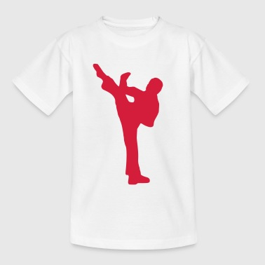 Fight - Kampf - Karate - Teenager T-Shirt