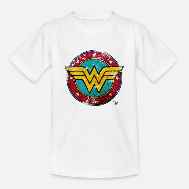 Wonder Woman Wonder Woman Logo Distressed - Teenager T-shirt