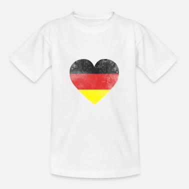 German Flag Gift Germany flag german flag german - Teenage T-Shirt