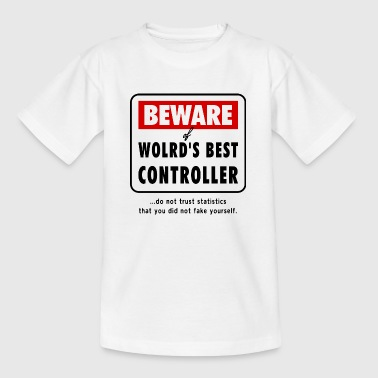 Caution greatest CONTROLLER inside, Controlling - Teenager T-Shirt