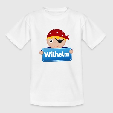 Kleine Piraat Wilhelm - Teenager T-shirt