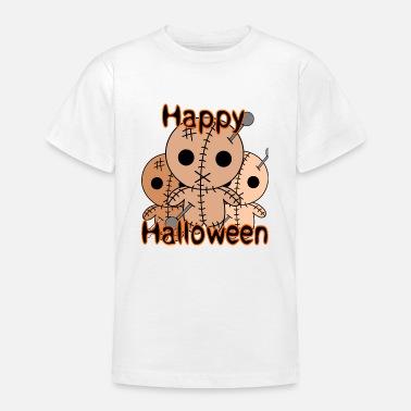 Voodoodocka Halloween voodoodockor - T-shirt tonåring 599e35835d69c