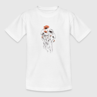 Blumenbeet - Teenager T-Shirt