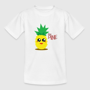 Funny pineapple - Teenage T-Shirt