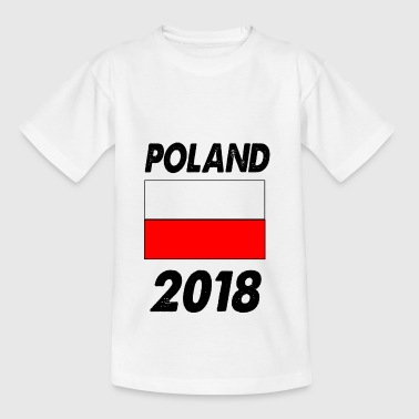 Polen - Teenager T-shirt
