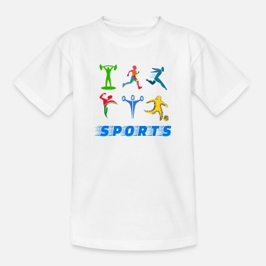 Sports Sports - Teenage T-Shirt