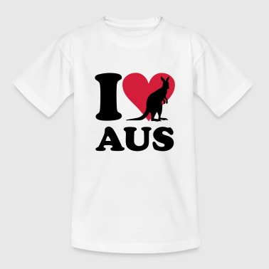 I love Australia - Teenage T-Shirt