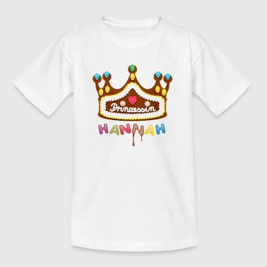 Prinzessin Hannah - Teenager T-Shirt