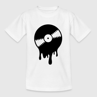 Melting Vinyl Record - Camiseta adolescente