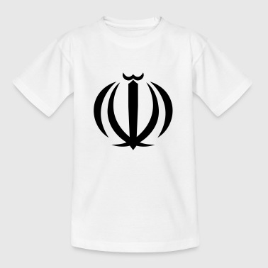 Perzië Nationaal Wapenschild van Iran - Teenager T-shirt