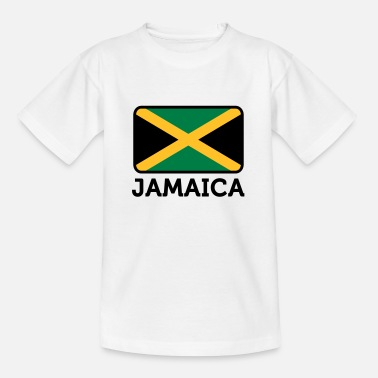 Commonwealth Drapeau national de la Jamaïque - T-shirt Ado