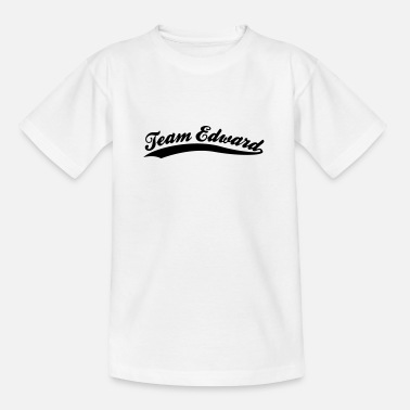 Edward Team Edward - Teenager-T-shirt