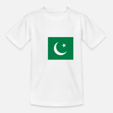 Pakistan Kids National Flag of Pakistan - Teenage T-Shirt