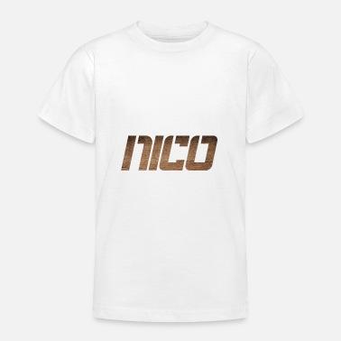 ordinare on-line genuino prezzo base Ordina online Magliette con tema Nico | Spreadshirt