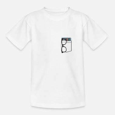 Nerd-Tasche - Teenager T-Shirt
