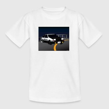 Initial D Drifting Akina - Teenage T-Shirt