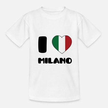 Milano I Love Milano - Teenager T-Shirt