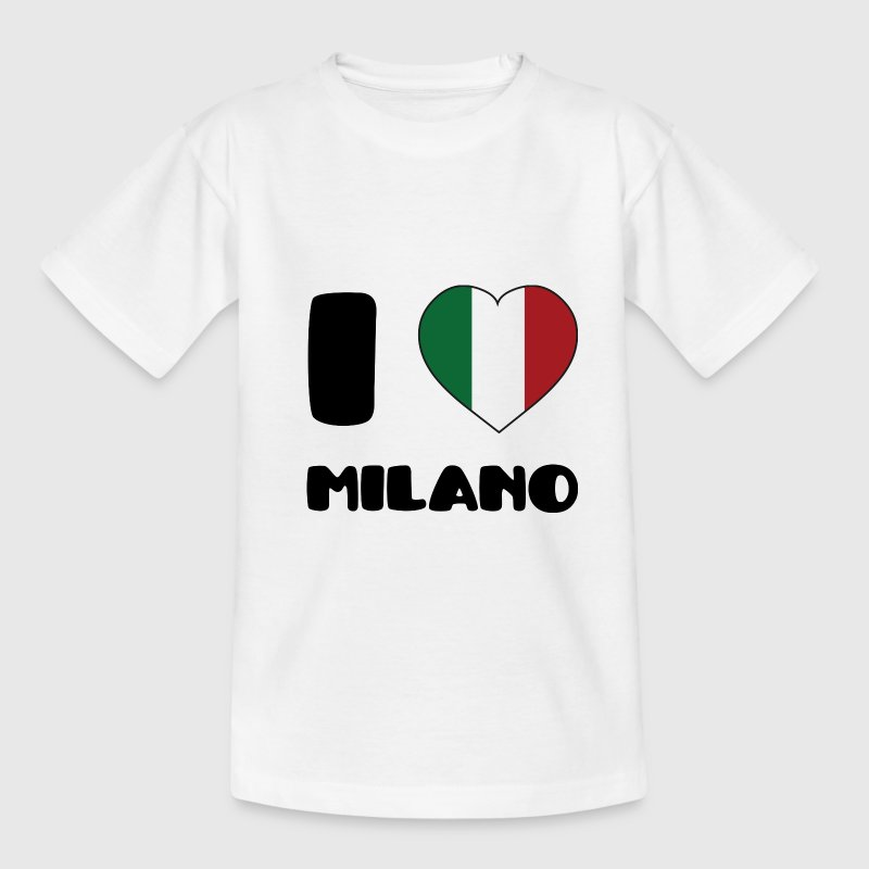 I Love Milano - T-shirt Ado