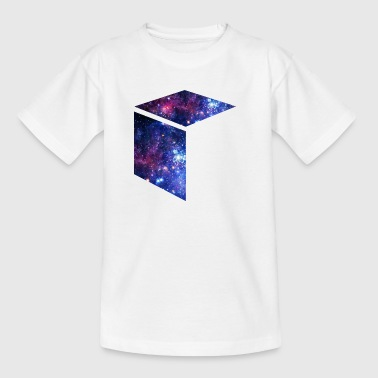 Galaxy Cube Space / cadeau-idee - Teenager T-shirt