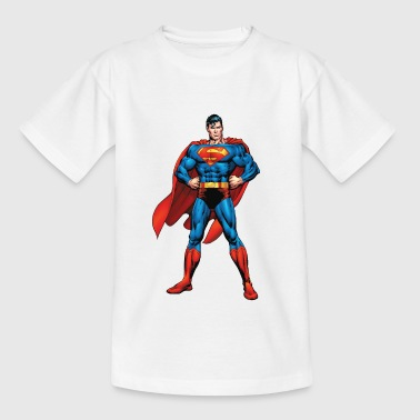 Superman Classic Pose Teenager Longsleeve - T-shirt tonåring