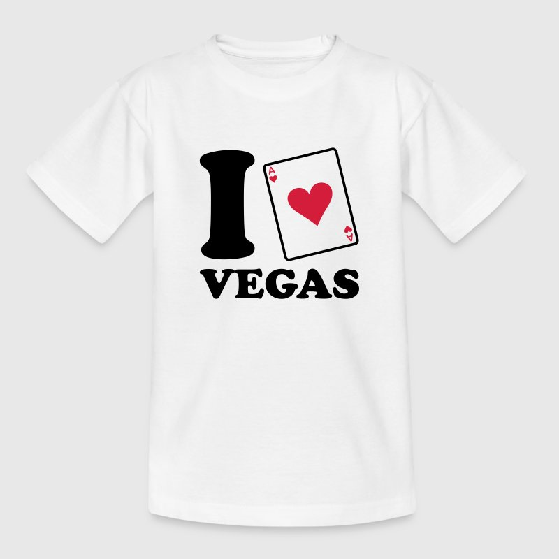 I love Vegas - Teenager T-shirt