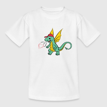 Lille drage - Teenager-T-shirt